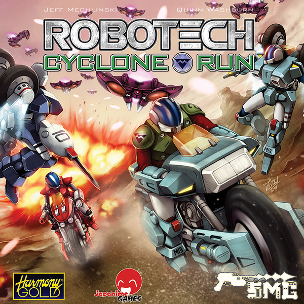 Robotech - Cyclone Run Board Game