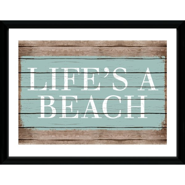 tropical home decor uk tropical life s a beach framed collector print 365games co uk  beach framed collector print