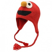 Official Sesame Street Knit Hat Elmo