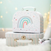 Sass & Belle Baby Unicorn Suitcases - Set of 2