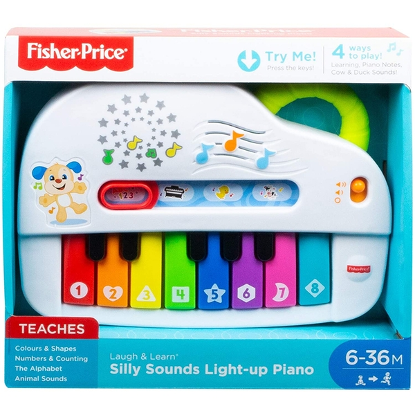 Fisher-Price Laugh and Learn Silly Sounds Light-Up Piano