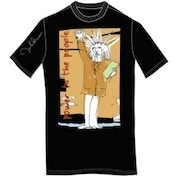 John Lennon Tee Shirt: Power to the People Blk: Small