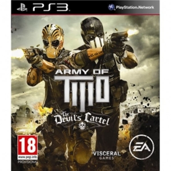 Army of Two The Devils Cartel Game PS3