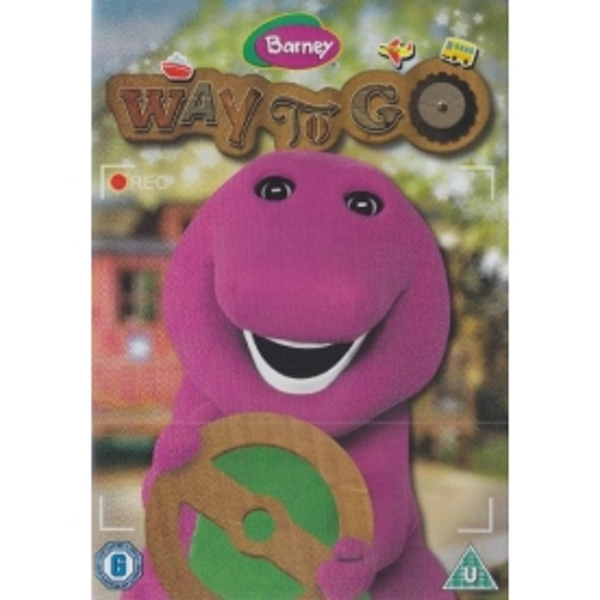 Barney Way To Go! DVD