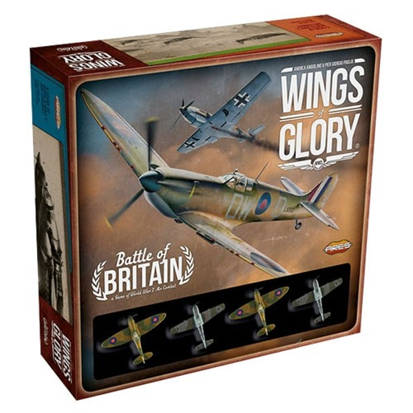 Wings of Glory: Battle of Britain WW2 Starter Set Board Game