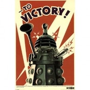 Doctor Who To Victory Maxi Poster