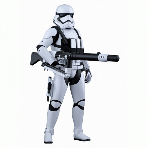 First Order Stormtrooper Heavy Gunner (Star Wars: The Force Awakens) Hot Toys Figure