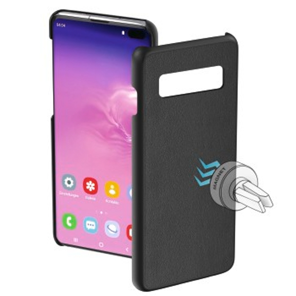 "Hama""Magnet"" Protective Case for Samsung Galaxy S10+ Black"