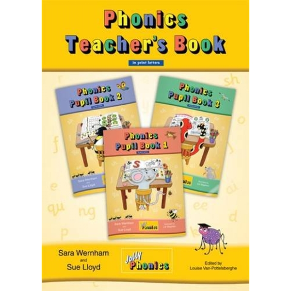 Jolly Phonics Teacher's Book: in Print Letters (British English edition) (Teacher Books Print) Paperback - Teacher's Edition, 1 Feb. 2011