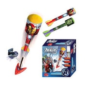Marvel Ironman & Hulk Sky Rocket Foam Launcher