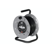 SMJ Electrical 25m 4 Socket Heavy Duty Extension Cable Reel UK Plug