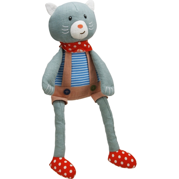Mr Cat Woven Fabric Plush