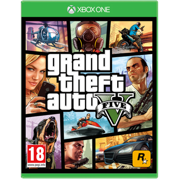 Grand Theft Auto GTA V (Five 5) Xbox One Game [Used]