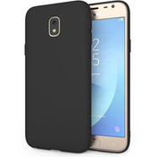 Samsung Galaxy J3 (2017) TPU Gel Case - Solid Black Matte