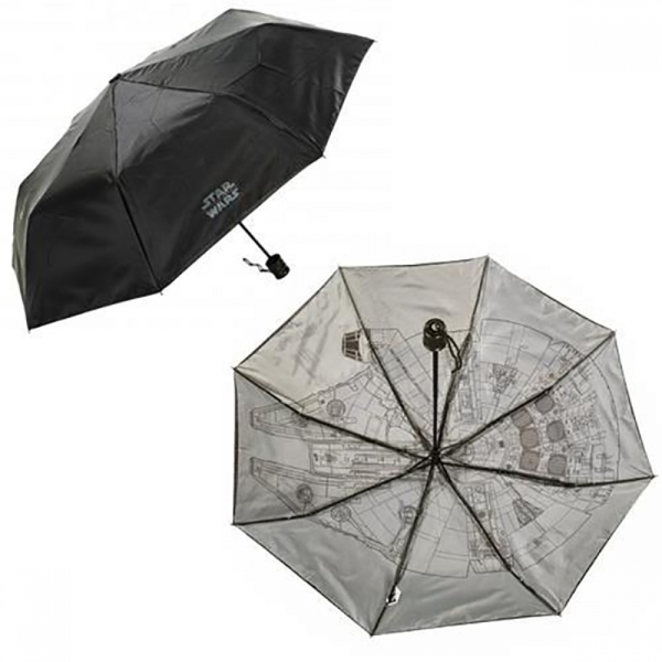 Star Wars Millenium Falcon Foldaway Ship Tech Umbrella - Image 1