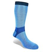 Bridgedale Everyday Outdoors Coolmax Liner Women's Sock Sky Blue Medium