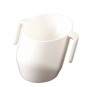 Bickiepegs Doidy Baby Training Cup - White