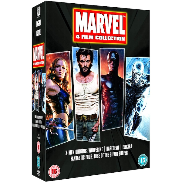 Marvel 4 Film Collection DVD