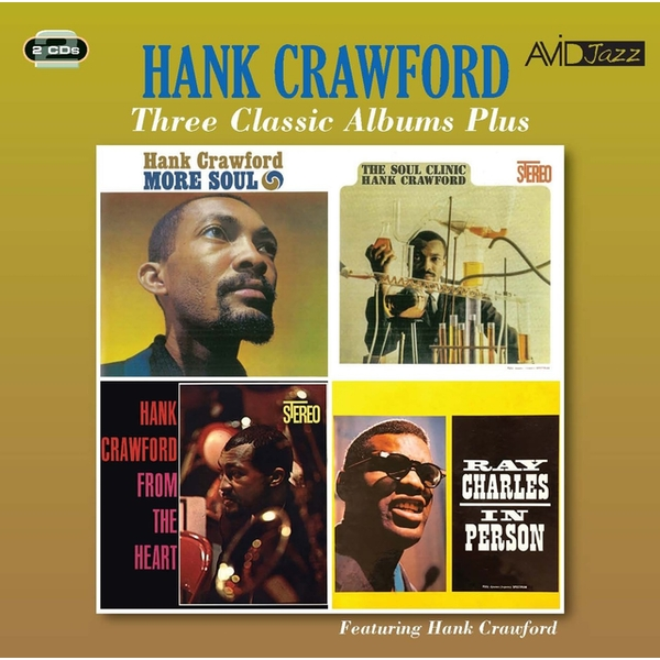 Hank Crawford - Three Classic Albums Plus CD