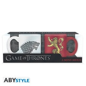 Game Of Thrones - Stark & Lannister Espresso Mugs