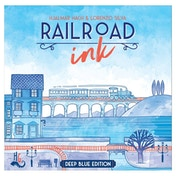 Railroad Ink: Deep Blue Edition Board Game