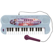 Lexibook K703FZ Disney Frozen II Electronic Keyboard with Mic and Line-In Cable (32 keys)