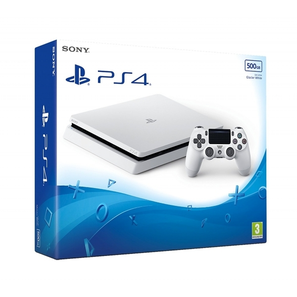 Ex-Display PlayStation 4 Slim D-Chassis (500GB) White