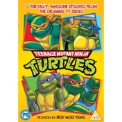 Teenage Mutant Ninja Turtles 25th Anniversary Edition DVD