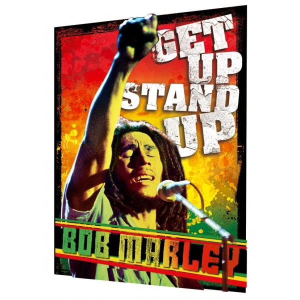 Bob Marley Get Up Stand Up 3D Poster