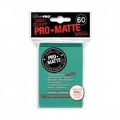 Ultra Pro Matte Small Aqua 60 Sleeves DPD - 10 Packs