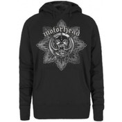 Motorhead Pig Badge Ladies Hoodie: Small