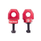 Box Three BMX Chain Tensioner Red 10mm Axle