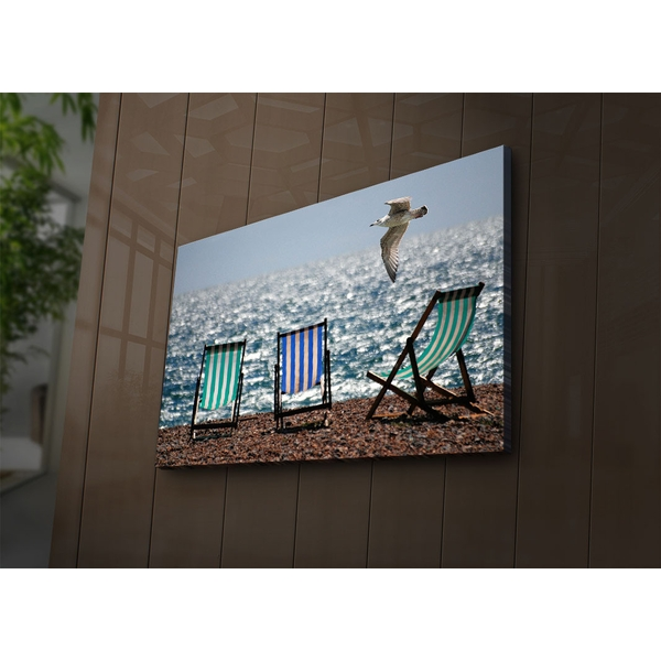 4570?ACT-75 Multicolor Decorative Led Lighted Canvas Painting