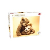 Puppy & Teddy 1000 Piece Jigsaw Puzzle