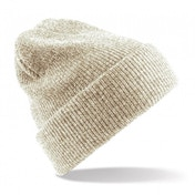 Heather Oatmeal Heritage Knitted Beanie ZT