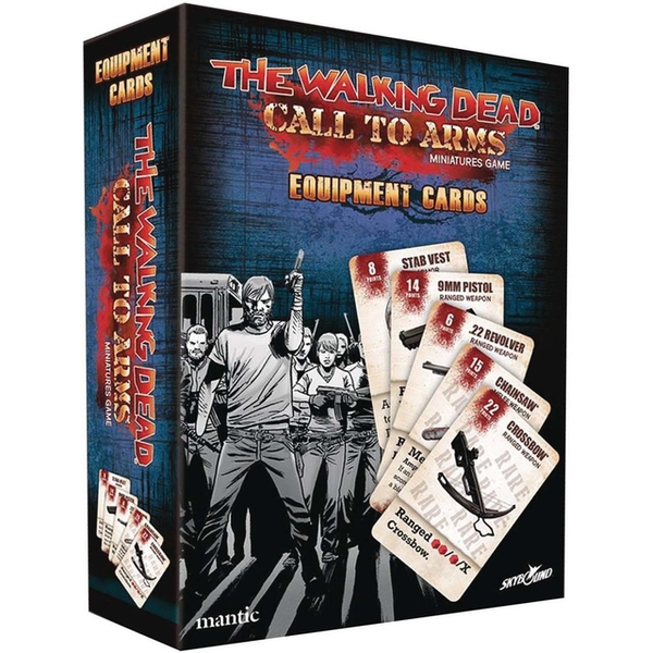 The Walking Dead: Call to Arms Call to Arms Equipment Cards