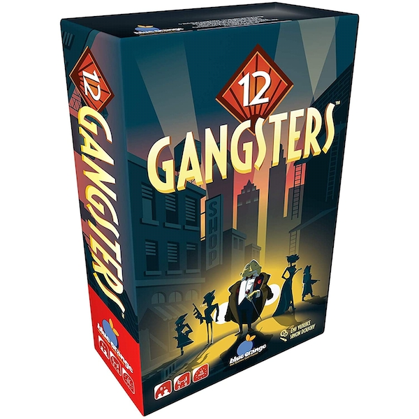 12 Gangsters Board Game