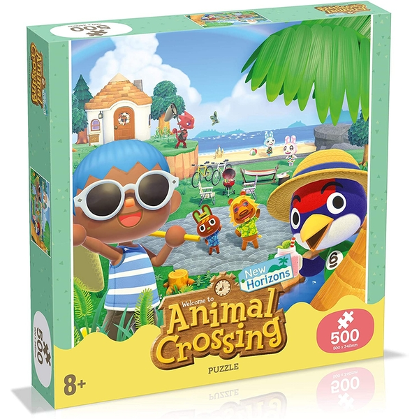 Animal Crossing Jigsaw Puzzle - 500 Pieces