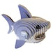 EUGY Shark 3D Craft Kit - Image 2