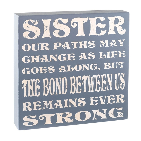 Sister Plaque By Heaven Sends