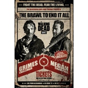 The Walking Dead Fight Maxi Poster