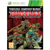 TMNT Teenage Mutant Ninja Turtles Mutants in Manhattan Xbox 360 Game