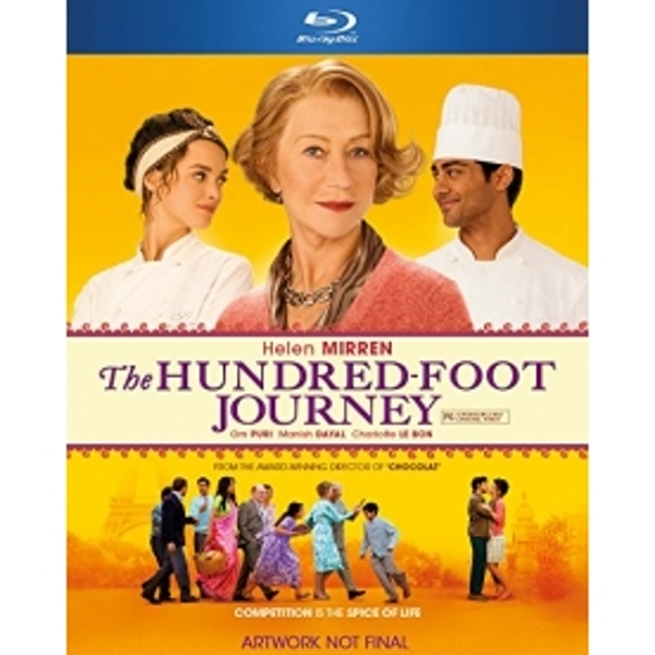 The Hundred Foot Journey Blu Ray