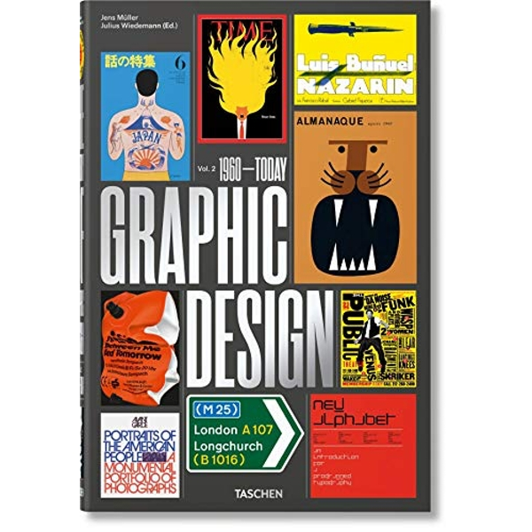 The History of Graphic Design. Vol. 2, 1960-Today  Hardback 2018