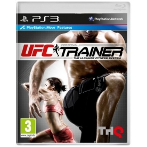 UFC Personal Trainer Includes Leg Strap (Move Compatible) Game PS3