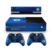 Official Chelsea FC Xbox One Console Skin and 2x Controller Skin Combo Pack