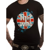 The Who - Logo Standing Men's Small T-Shirt - Black