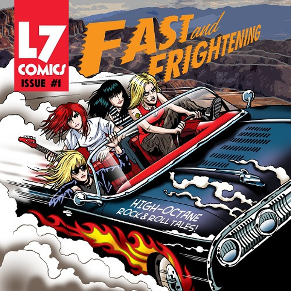 L7 ‎- Fast And Frightening Vinyl