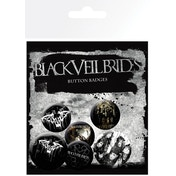 Black Veil Brides Darkest Badges