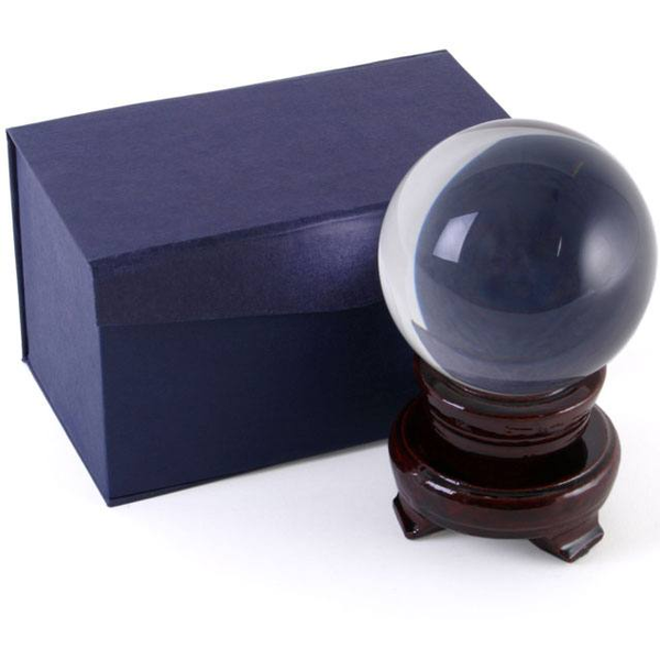 8CM Crystal Ball With Base
